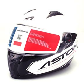 Capacete-Astone-GT-Touring-White-Black-11