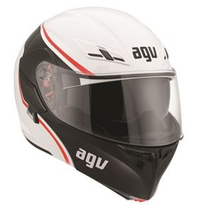 Capacete-Agv-Compact-Course-White-Red