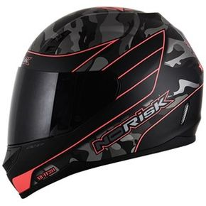 Capacete-Norisk-FF391-War-Matt-Black-Orange