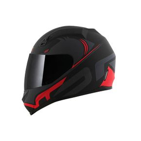 Capacete-Norisk-FF391-Squalo-Matt-Black-Red