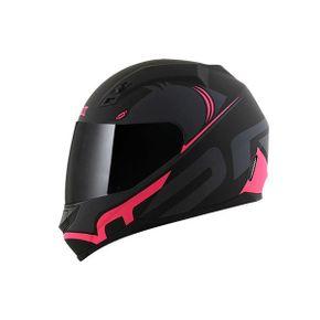 Capacete-Norisk-FF391-Squalo-Matt-Black-Pink
