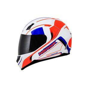 Capacete-Norisk-FF391-Night-Breaker-White-Orange