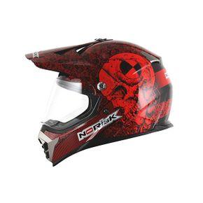 Capacete-Norisk-Mx455-Test-Machine-Black-Red