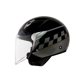 Capacete-Norisk-Jet-College-Black-Grey