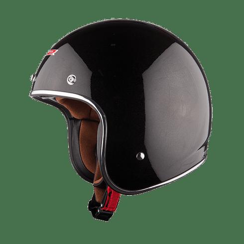 capaceteLS2OF583MonocolorBlack1