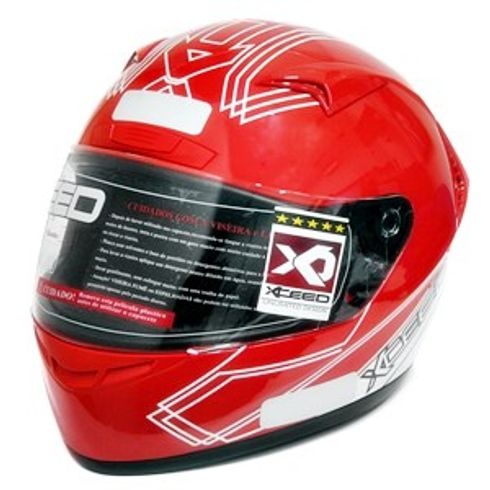 Capacete-Xceed-Sprint-3-Gti-White-Red