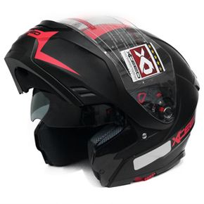 Capacete-Xceed-Spectro-5-Line-One-Red-Matte
