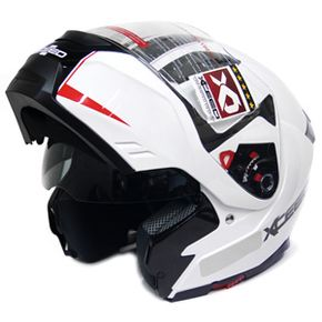 Capacete-Xceed-Spectro-5-Line-One-White