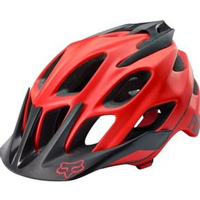 Capacete-Fox-Bike-Flux-16-Red-Matte
