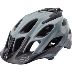 Capacete-Fox-Bike-Flux-16-Grey-Matte