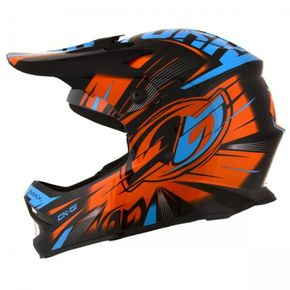 Capacete-Tork-Cross-Infantil-Ck01-Black-Orange