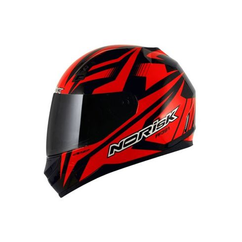 Capacete-Norisk-FF391-Slide-Black-Red
