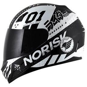 Capacete-Norisk-FF391-Tokyo-Matt-Black-White