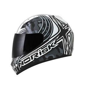 Capacete-Norisk-FF391-Cyborg-White-Black