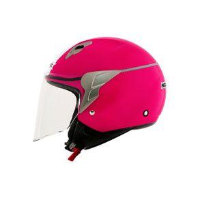 Capacete-Norisk-Jet-Linea-Pink-White