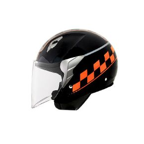 Capacete-Norisk-Jet-College-Black-Orange