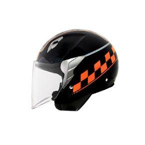 Capacete-Norisk-Jet-College-Black-Orange