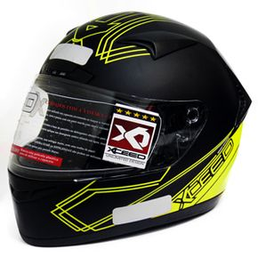 Capacete-Xceed-Sprint-3-Gti-Black-Yellow-Matte