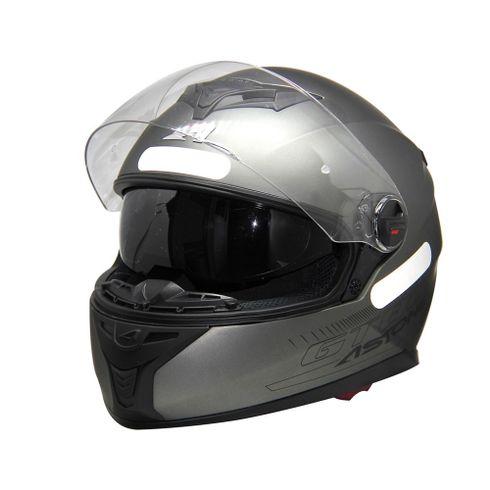 Capacete-Astone-Gt800-Gunmetal-1