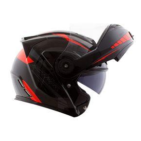 Capacete-Norisk-FF345-Route-Motion-Black-Grey-Red--Preto-Cinza-Vermelho-3
