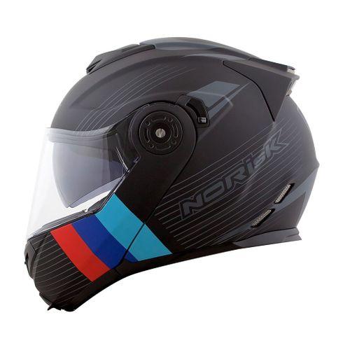 Capacete-Norisk-FF345-Stroke-Matt-Black-Blue-Red-3