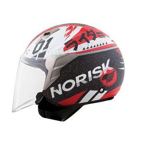 Capacete-Norisk-Jet-Tokyo-Matt-Black-Red-White-1