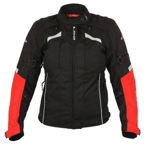 dd43f57818 Jaqueta Race Tech Eagle Black Red - casadocapacete