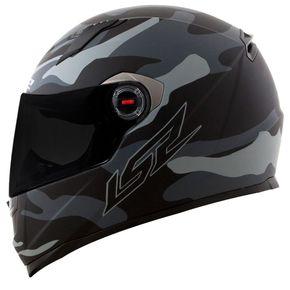 Capacete-LS2-FF358-Army-Matt-Grey-Black-1