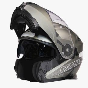 Capacete-Astone-Rt1200-Matt-Gun-Metal-1