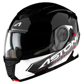 Capacete-Astone-RT1200-Touring-Black-White-1