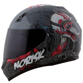 Capacete-Norisk-FF391-Wolf-Grey-Black-1