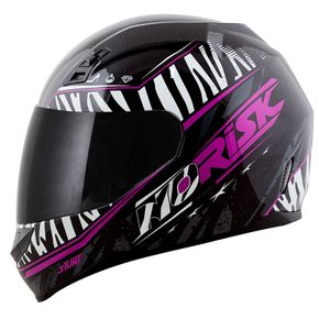 Capacete-Norisk-FF391-Beauty-Black-Zebra-1