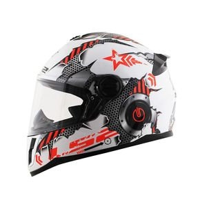 Capacete-LS2-FF392-Junior-Machine-White-Red-1