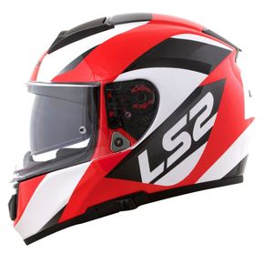 Capacete-LS2-Vector-Wavy-Black-White-Red-1