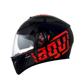 Capacete-AGV-K3-SV-Myth-Black-Grey-Red-1