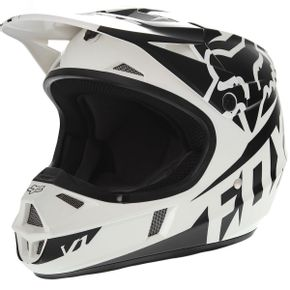 Capacete-Fox-V1-Youth-Race-Black-1