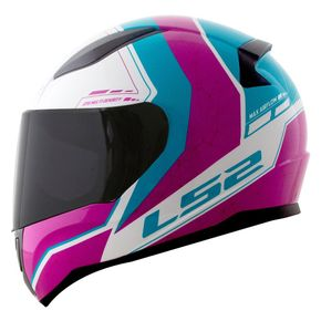 Capacete-LS2-FF353-Candie-White-Pink-Blue-1