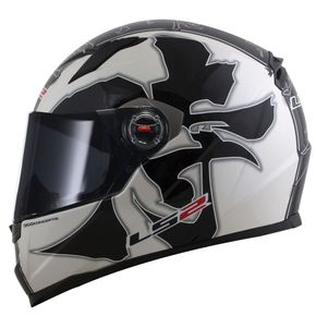 Capacete-LS2-FF358-Warrior-Black-White-1