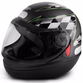 Capacete-Taurus-New-San-Marino-Matt-Black-Green