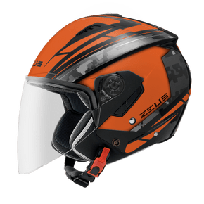 Capacete-Zeus-205-AQ1-Matt-Black-Orange-1
