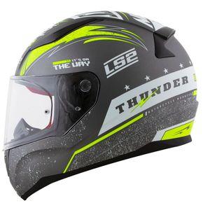 Capacete-LS2-FF353-Thunder-Matt-Grey-White-Fluo-1