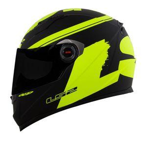 Capacete-LS2-FF358-Matt-Black-Yellow-Fluo-1
