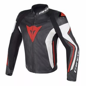 Jaqueta-Dainese-Assen-Black-White-Red-Fluor-1