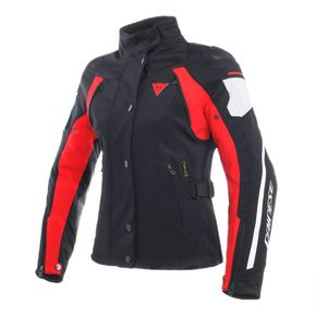 Jaqueta-Dainese-Rain-Master-Lady-D-Dry-Black-Glacier-Gray-Red-1