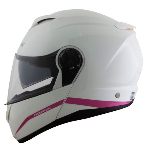 Capacete-Norisk-Force-Simplicity-White-Pink-1