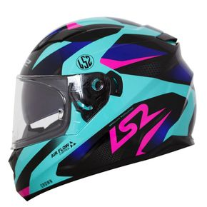 Capacete-LS2-FF320-Stream-Crown-Blue-Black-Pink-1