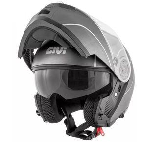 Capacete-Givi-X21-Graphic-Titanium-Prata-1