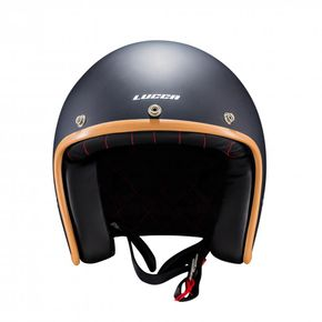 Capacete-Lucca-OF605-Cafe-Racer-Matt-Caramelo-1