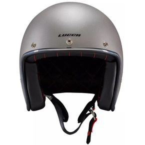 Capacete-Lucca-OF605-Cafe-Racer-Matt-Metallic-Grey-1
