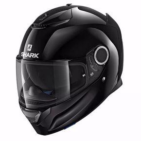 Capacete-Shark-Spartan-Blank-Black-1